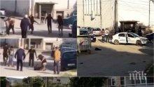 ШОКИРАЩО! Дете заснело убийството в Шумен: Бързо на 112! Той ще умре (ВИДЕО 18+)