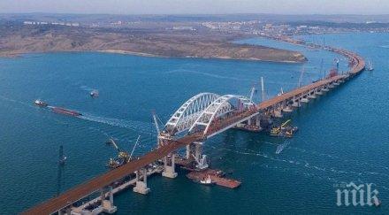 САЩ осъди отварянето на моста между Крим и Русия