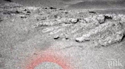 МИСТЕРИЯ! Откриха летяща чиния на Марс? (ВИДЕО)