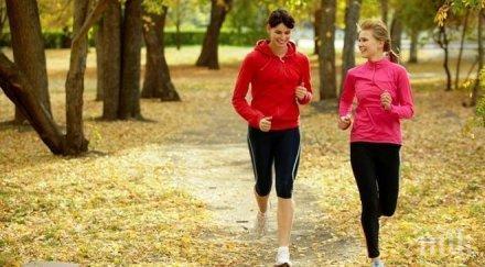 полезен съвет минути тичане ден красиво тяло здраве