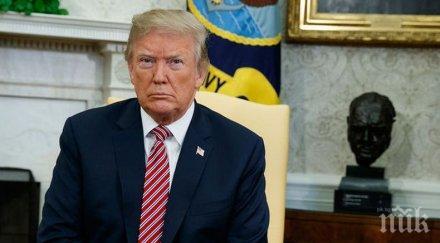 """Доналд Тръмп атакува """"предателите и страхливците"""" в Белия дом"""