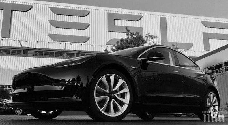 """Пореден инцидент с електромобил """"Тесла"""" бе регистриран в САЩ"""