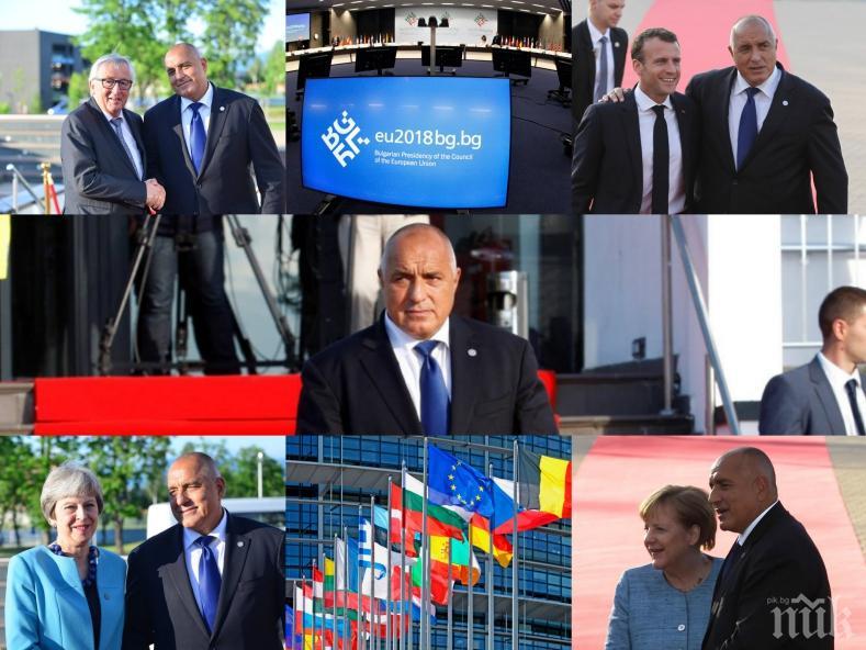 ИСТОРИЧЕСКА СРЕЩА! Премиерът Борисов и европейските лидери решават съдбата на Европа и Западните Балкани