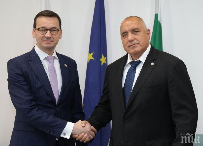 ПЪРВО В ПИК! Полският премиер със специална покана към Борисов