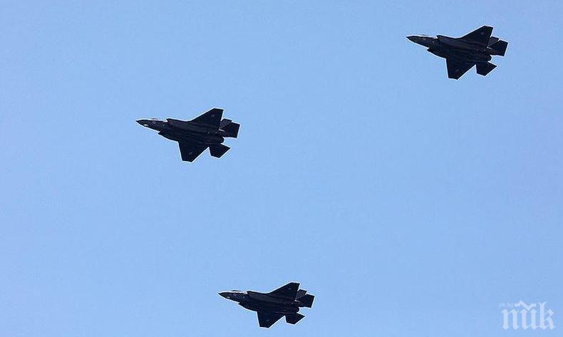 Израел нанесе въздушни удари по обекти на ХАМАС на Ивицата Газа