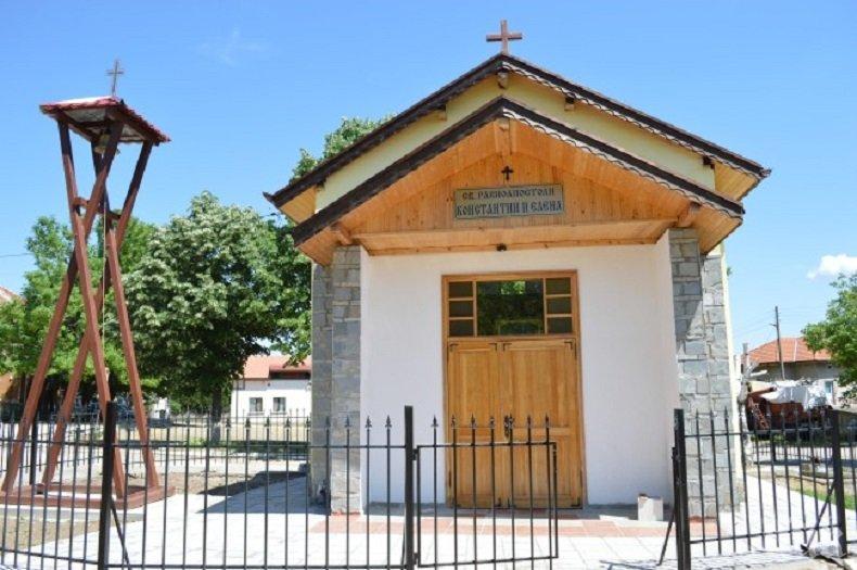 Духовна радост! Видинско село вече има свой храм