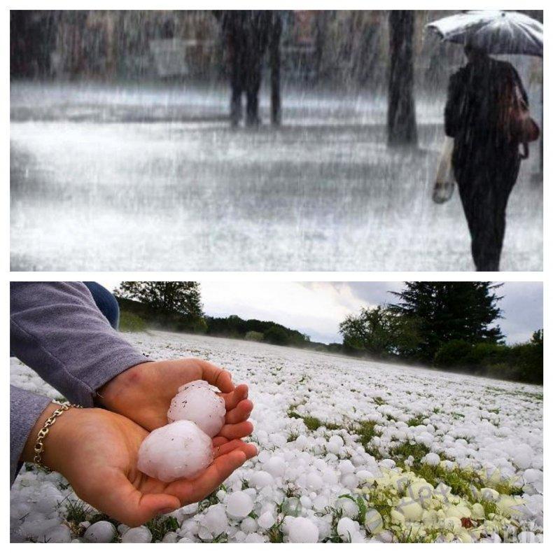 ВРЕМЕТО ОТКАЧИ! Седмицата започва с валежи и градушки