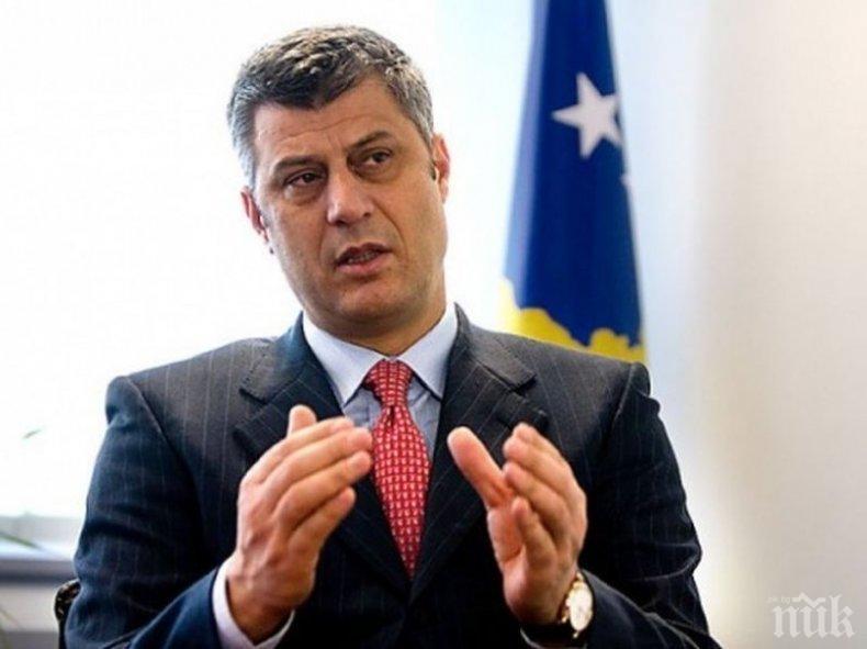Тачи с молба към Ципрас: Признайте Косово