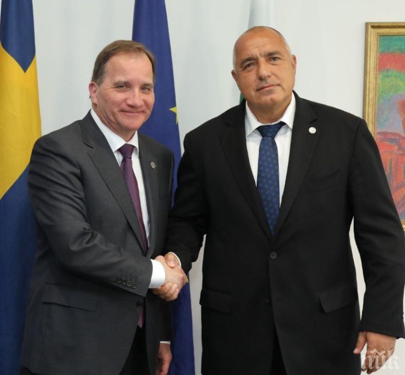 ПЪРВО В ПИК! Премиерът Борисов и Льовен разговаряха за миграционната криза
