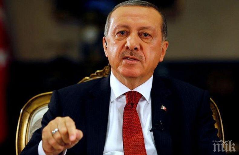 Ердоган с тежки думи към ООН