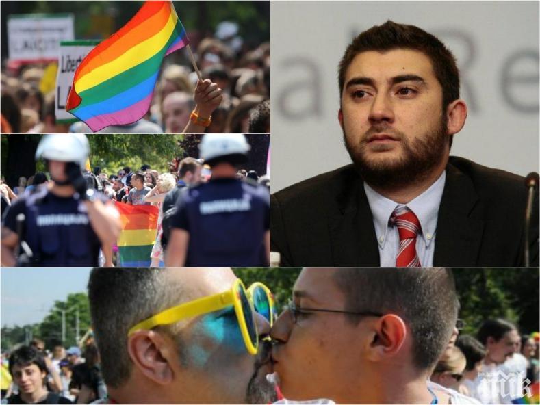 """САМО В ПИК! Карлос Контрера с разбиващ коментар за """"София прайд""""! Патриотът иска забрана на гей парада"""