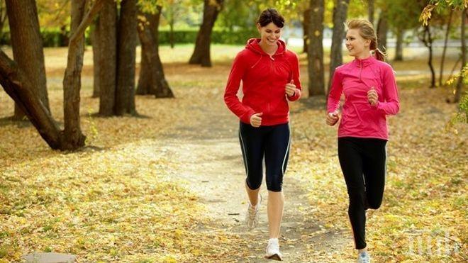 ПОЛЕЗЕН СЪВЕТ! 30 минути тичане на ден = красиво тяло и здраве