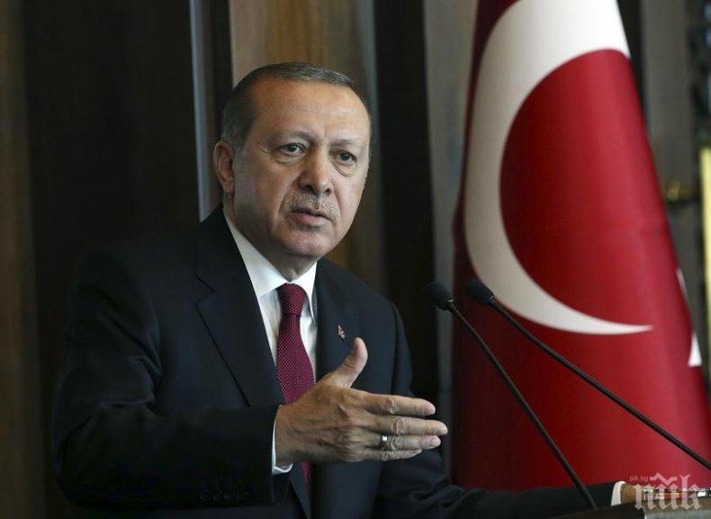 """Ердоган към Израел: """"ХАМАС"""" не е терористична организация"""