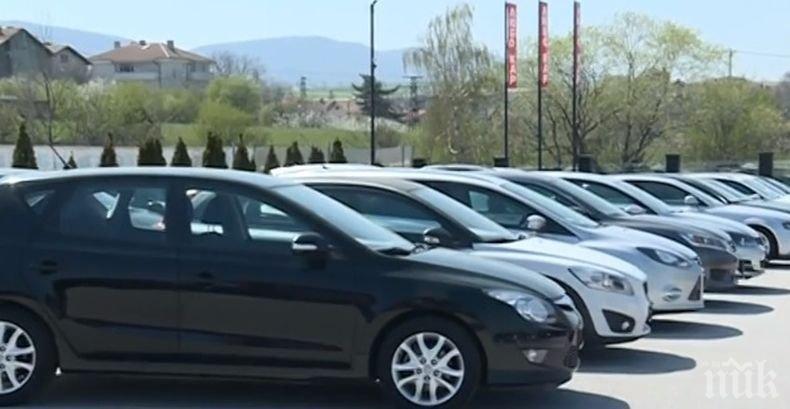 Ръст на продажбите на нови автомобили в България