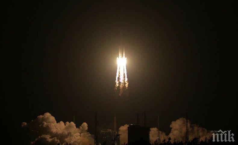В Китай тестваха успешна първата си търговска ракета