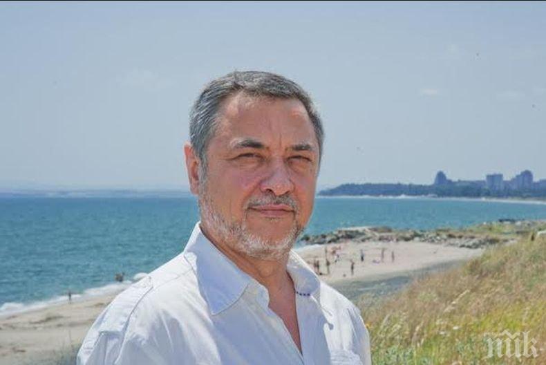 ПЪРВО В ПИК! Вицепремиерът Валери Симеонов проверява незаконните постройки по плажовете
