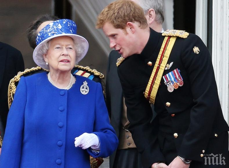 Кралицата и принц Хари са най-харесвани от народа