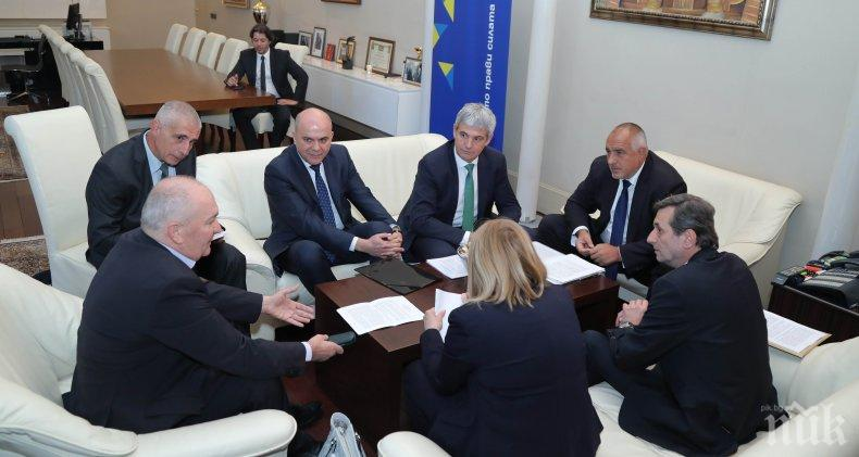 Премиерът Борисов: Работим и със синдикатите и с работодателите