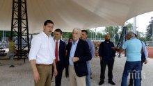 Екшън! Екстремисти пратиха кмета на Солун в болница
