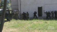 Спецчастите ни тренираха с македонските си колеги как да заловят терорист