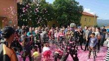 Невиждан бунт на розопроизводителите в Пловдивско  (ВИДЕО)
