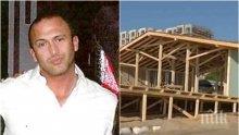 СКАНДАЛ РАЗБУНИ ВАРНА! Човек на Георги Илиев във ВИС зад огромния строеж на пясъка върху плажа Кабакум