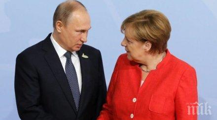 Ангела Меркел ще посети Русия