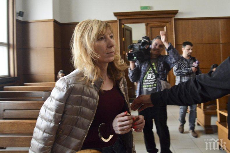 Докараха в съда заловената с подкуп шефка в община Подуене (СНИМКИ)