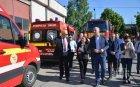 Цветан Цветанов и членове на комисията по вътрешна сигурност посетиха Инспектората за спешни случаи Доброгеа