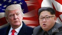 """Тръмп: Готови сме, ако Ким Чен-ун предприеме """"безразсъдни действия"""""""