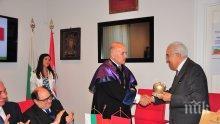 Съзвездие от държавници и дипломати дадоха рамо на пътуващия семинар на УниБИТ и ректора му проф. Стоян Денчев във Вечния град