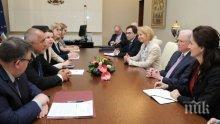 """Премиерът Борисов постави темата """"Желяз Андреев"""" при срещата с американския главен прокурор"""