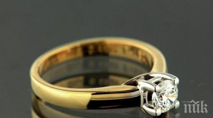 Жена отмъкна пръстен пред охранителна камера в златарско ателие