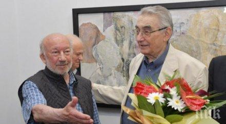 Скулпторът Георги Чапкънов: Не знам как ще преживея загубата на Светлин