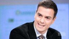 Лидерът на социалистите в Испания Педро Санчес официално встъпи в длъжност като премиер на страната