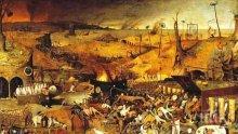 """В Мадрид бе представена реставрираната картина на Питер Брьогел Стария """"Триумфът на смъртта"""""""