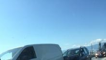 ОТ ПОСЛЕДНИТЕ МИНУТИ! Катастрофа затапи Околовръстното на Пловдив (СНИМКИ)