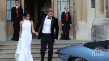 РАЗКРИТИЕ! Меган Маркъл едва не припаднала на сватбата си от изтощение