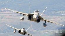 ЗАКРИЛА! Авиацията на НАТО вече патрулира над Черна гора