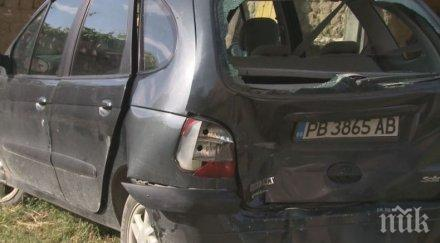 НОВО 20! Дрогиран прикрива млада шофьорка за мелето край Труд