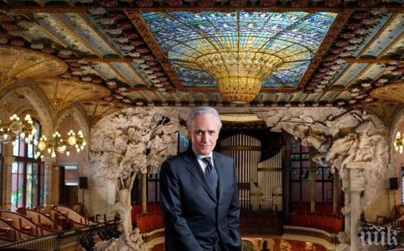 Фандъкова патрон на концерта на Хосе Карерас