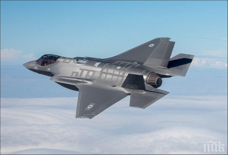 Великобритания получи първите четири изтребителя Ф-35