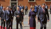 Румен Радев от Варшава: България подкрепя усилията на НАТО за изграждане на съвременни отбранителни способности