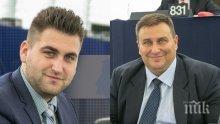 Евродепутатите Емил Радев и Андрей Новаков обявиха война на менте-горивата