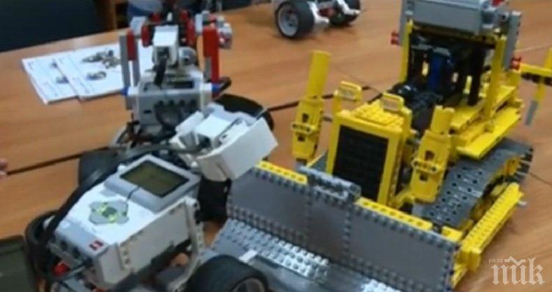 УНИКАЛНО! В Русе сглобяват роботи от стари компютри