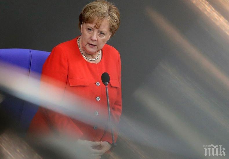 Ангела Меркел с мерак да посети Русия за Световното първенство по футбол