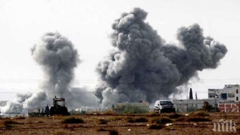 Русия алармира за готвена провокация с химическо оръжие в Сирия