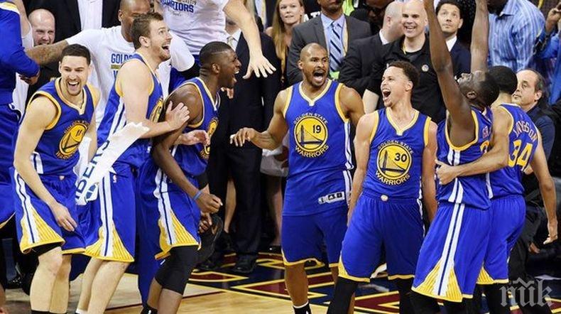 Шестата! Голдън Стейт Уориърс отново  с титлата в НБА