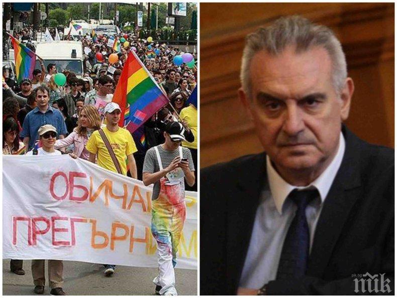 САМО В ПИК TV! Валентин Касабов от НФСБ скочи остро на гейовете: Писна ми от педерастия в България! Искам да живея в нормална държава!
