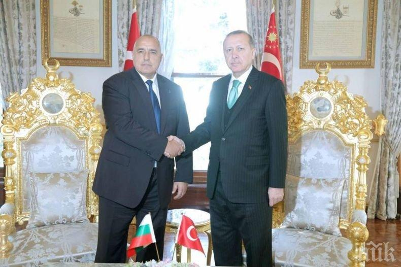 Премиерът Борисов заминава на важно посещение в Турция
